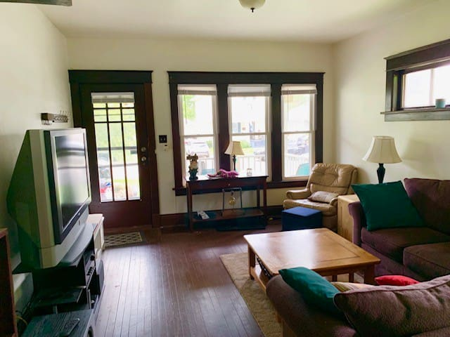 Living Room and Front Entry