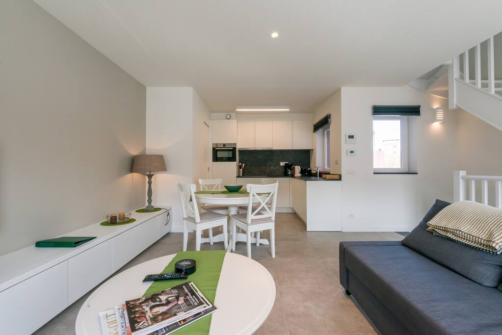 New apartment in the city center of Knokke