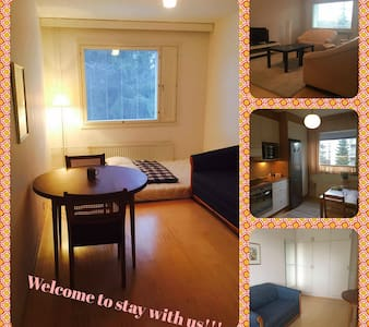 Cute room for your stay in Turku (1-4 persons) - Turku - Byt