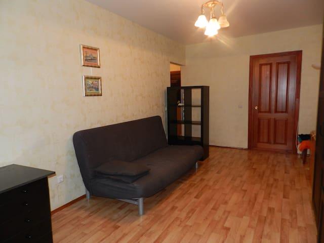 Просторная однокомнатная квартира - Уфа - Huoneisto