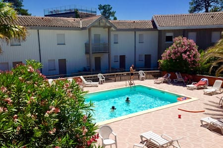 Appartement plage et piscine cap ferret