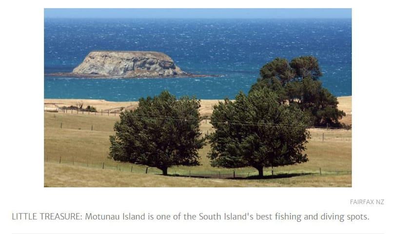 Motunau Beach is just 7 mins away
