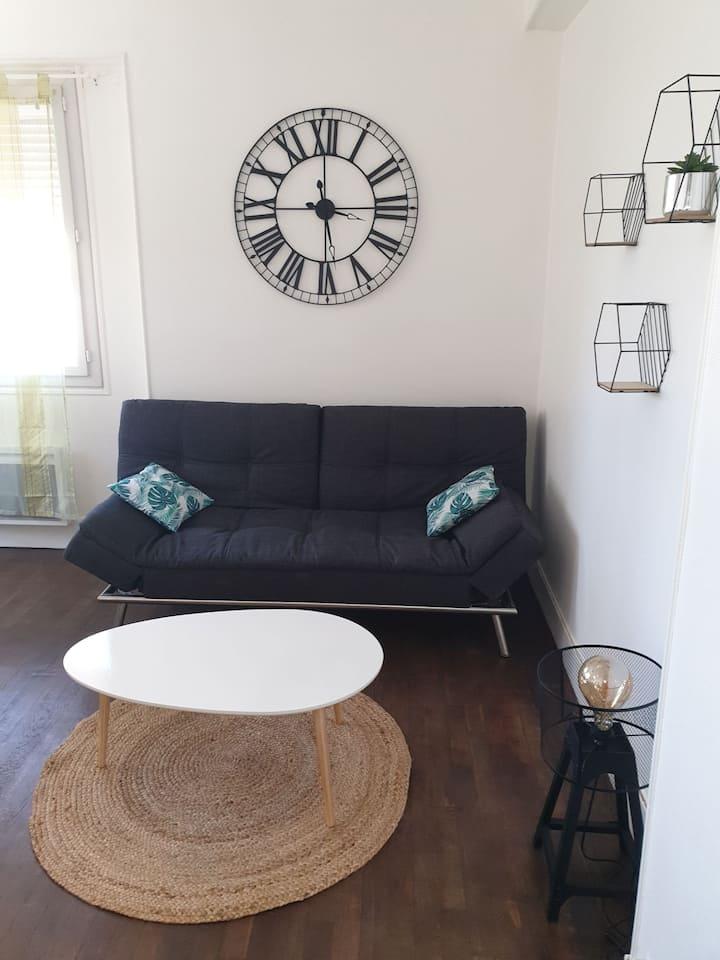Joli appartement 2 chambres