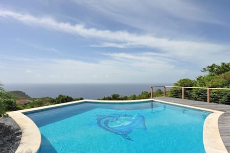Spectacular Views of the Island, Private Swimming Pool, Sundeck and Lounging Areas, Free Wifi