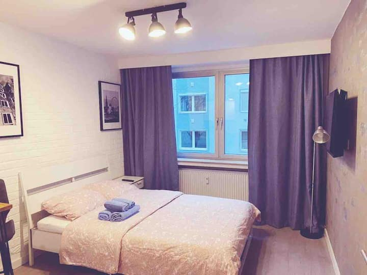 Apartment close to Düsseldorf Main Station