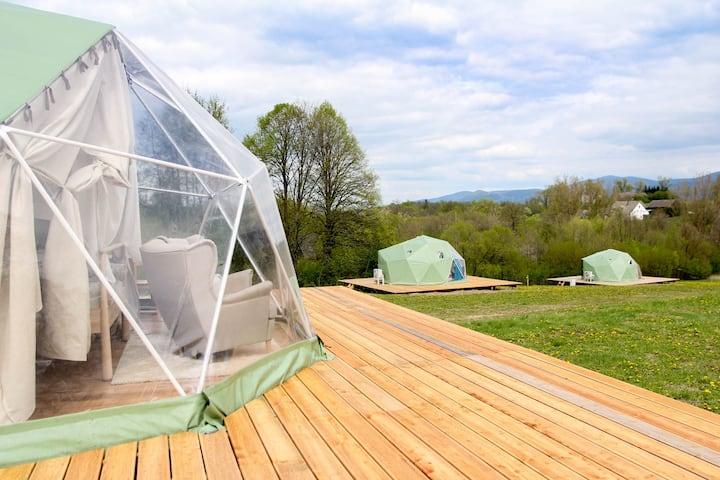 Vegan House - luksusowy namiot 4