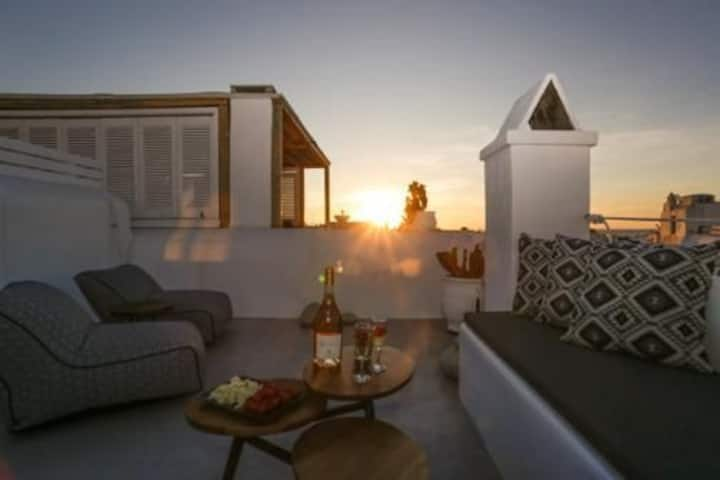 Mykonos be Chic Maisonette 1⭐Heart of Town⭐