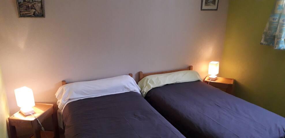 La chambre aux lits jumeaux