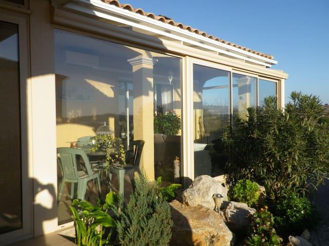 Jolie villa tt confort , jardin,  2sdb , expo sud - Fitou - วิลล่า