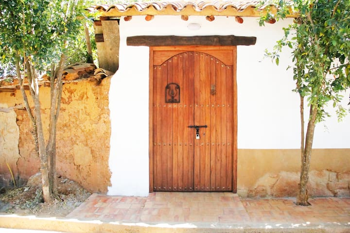 Habitación frente al mirador en Barichara
