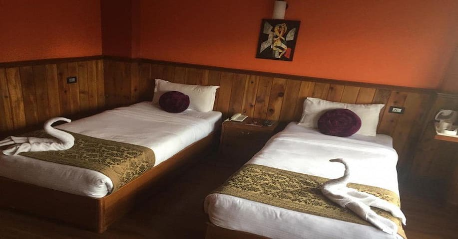 The Rope By Swifthill Hotels and Resorts with Deluxe Twin Bed
