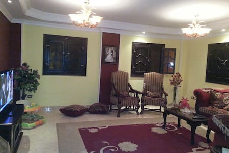 Amazing apartment in a quite city - El Obour City