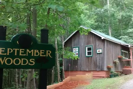 September Woods-Gateway to the Blue Ridge Parkway - Chalet