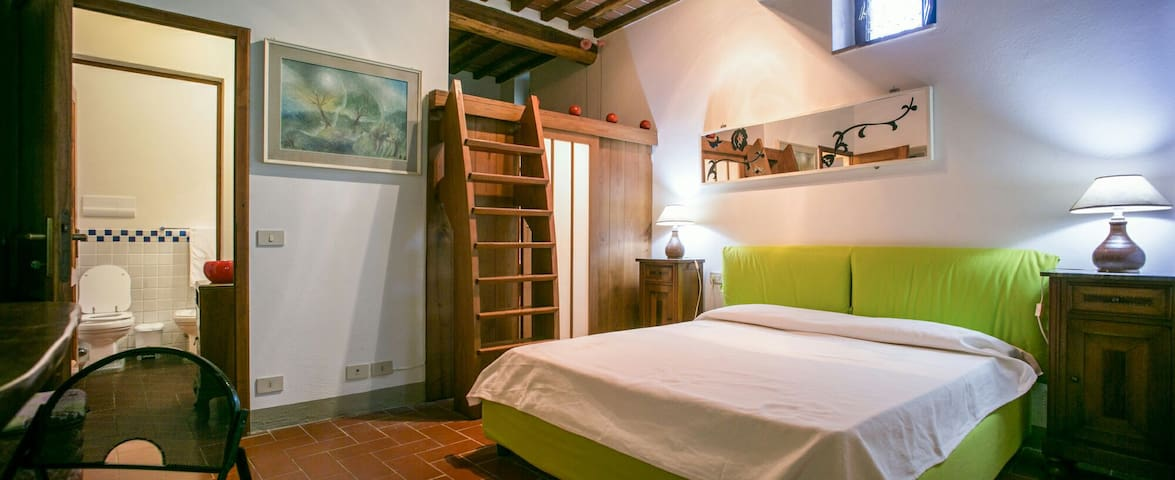 Tuscan style apartment, shared pool - Gaiole In Chianti - Byt