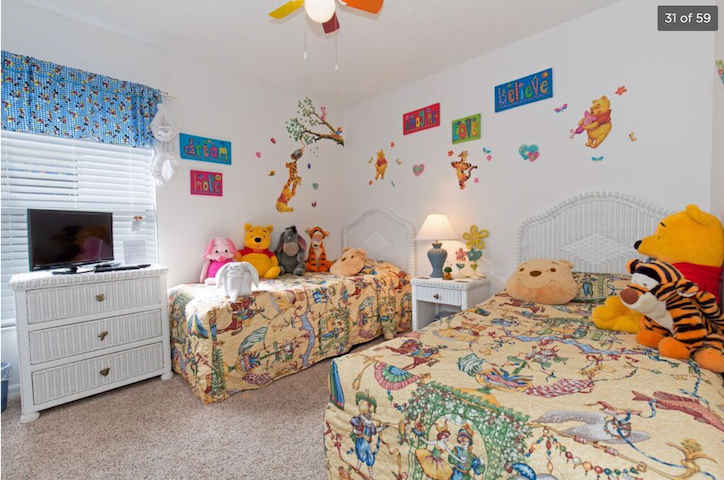 Magical Kids bad room is in Disney style for our most precious guests:))