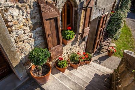 Beautiful 17 Century Farmhouse - fabulous views! - Anghiari