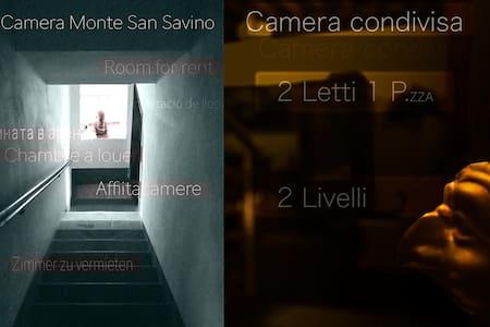 Camera singola condivisa Monte San Savino