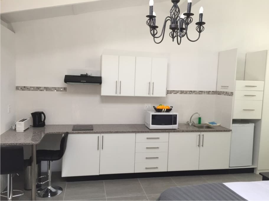 Fully equipped kitchens with everything you will need