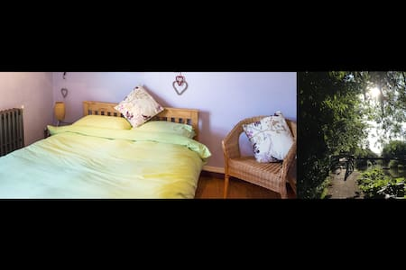 Cozy arty central accommodation with own bathroom - Newbury - Rumah