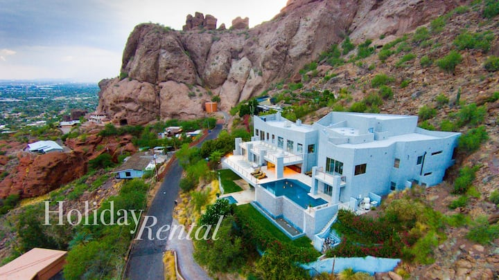 Beautiful 11 Million Dollar Mansion on Camelback