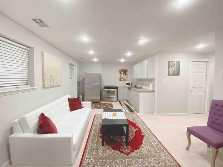 Entire basement apartment with private entrance