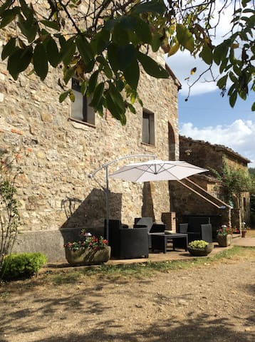 apartment in farmhouse - Fraz. Travale, Montieri - Talo