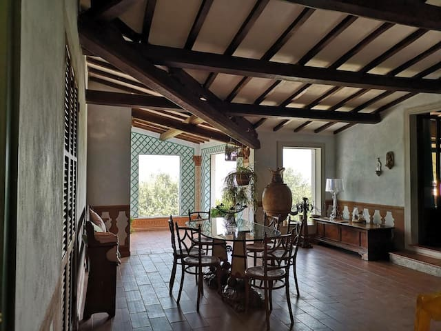 House in Spoleto with views of the Spoleto valley