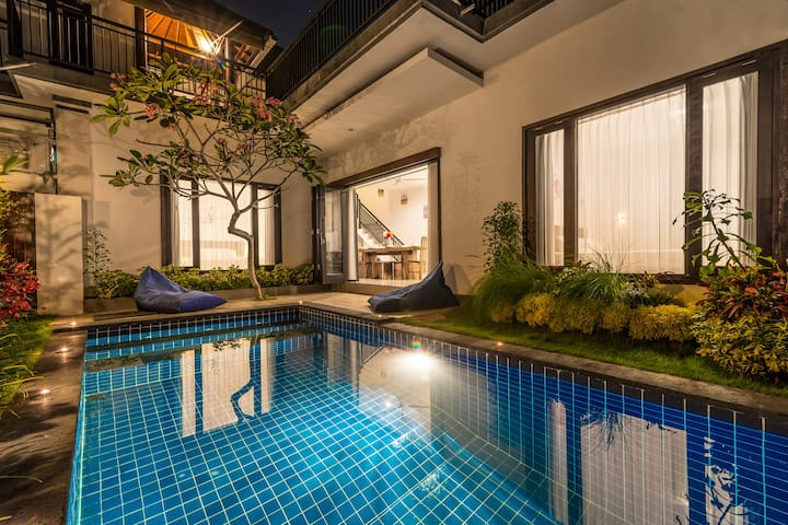 *VILLA ANCI*RICE FIELDS*QUIET*CANGGU*SPACIOUS*
