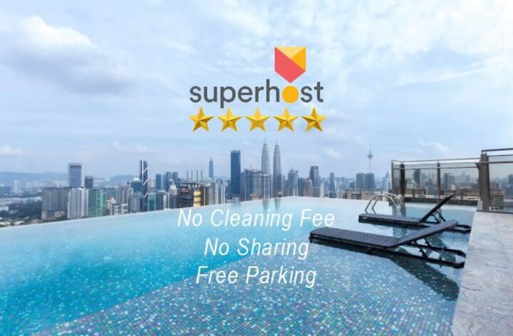Kuala Lumpur City Center Suite (Infinity Pool)