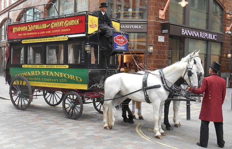 Edward Stanford Bookshop Horse-Drawn Omnibus Tours