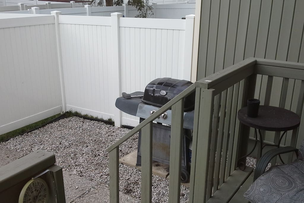 BarQ in back yard