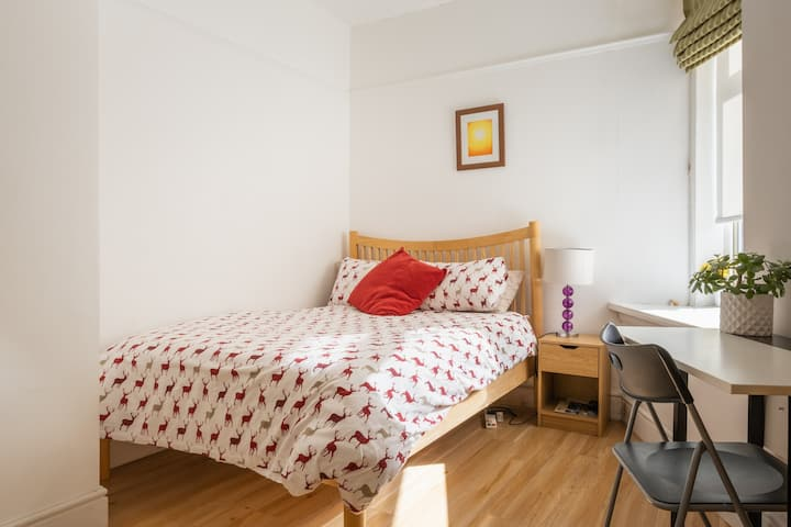 A central 5* superhost double room, free parking.