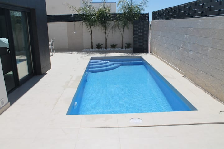Luxury three bedroom villa with private pool.