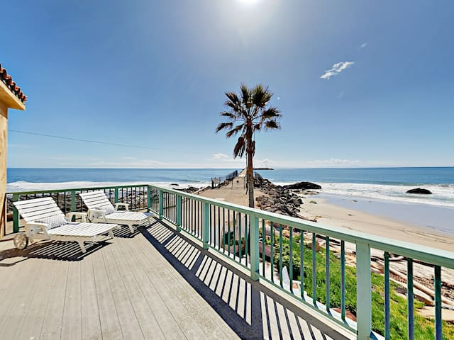Oceanfront 4BR w/ Private Patio