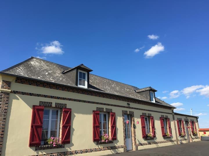 La maison  Détente en Normandie SPA INTEX