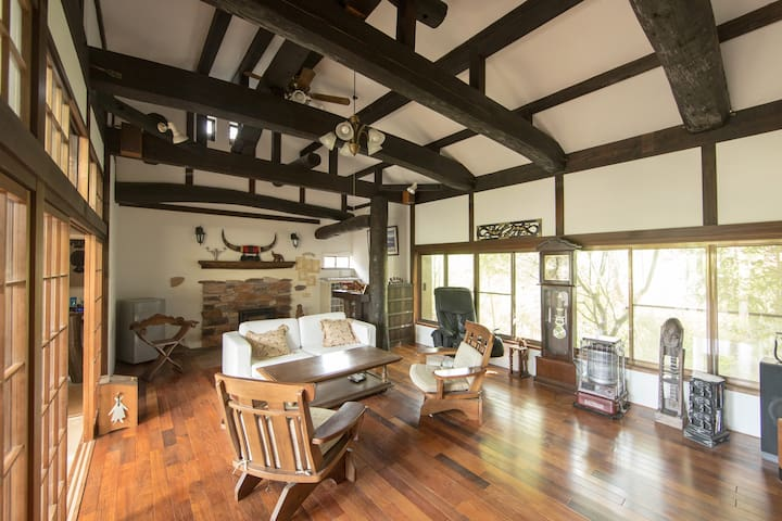 Traditional Japanese House Room on the second floo