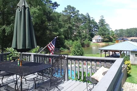 Room available in Lakefront home on Lake Sinclair - Milledgeville - Talo