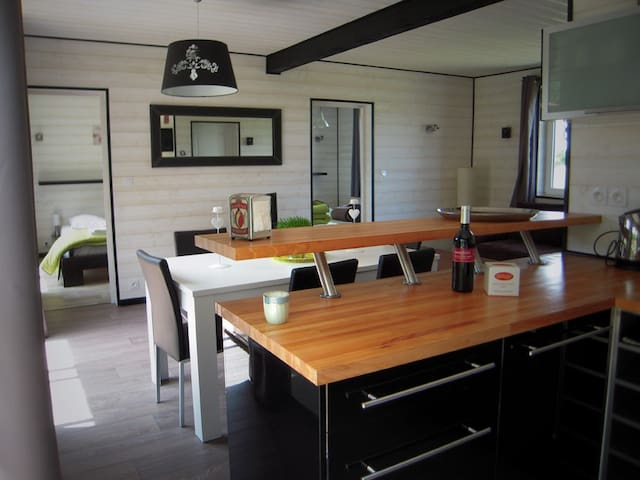 Maison avec jacuzzi, terrasse et jardin
