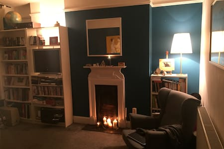 Tranquil double room in trendy London garden flat. - London - Apartment