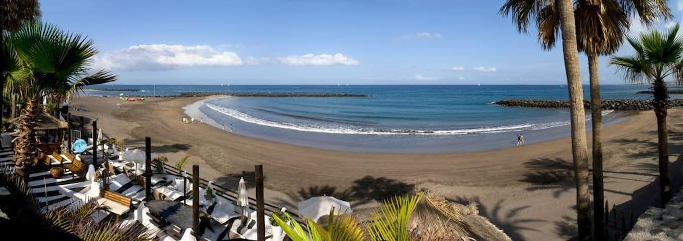 2 rooms with kitchen, balcony, WiFi. Ocean 200m - Santa Cruz de Tenerife - Ev