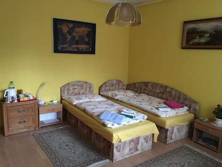 Room near center of Bratislava