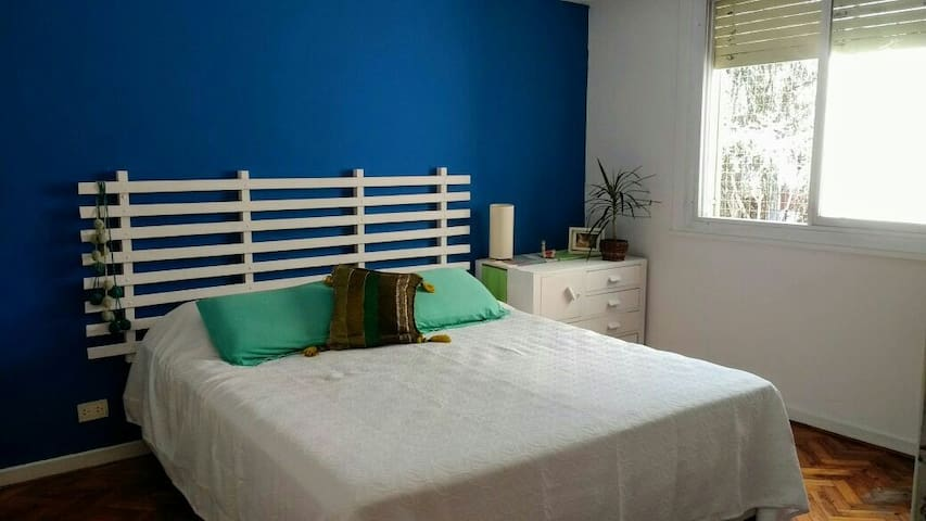 Private double room in Male and Juan's apt - Buenos Aires - Appartement