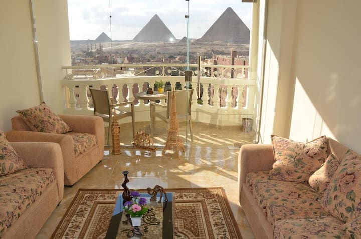 Deluxe & Double Room from sun pyramids inn