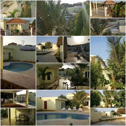 Villa du soleil piscine privée   ngaparou saly - Ngaparou