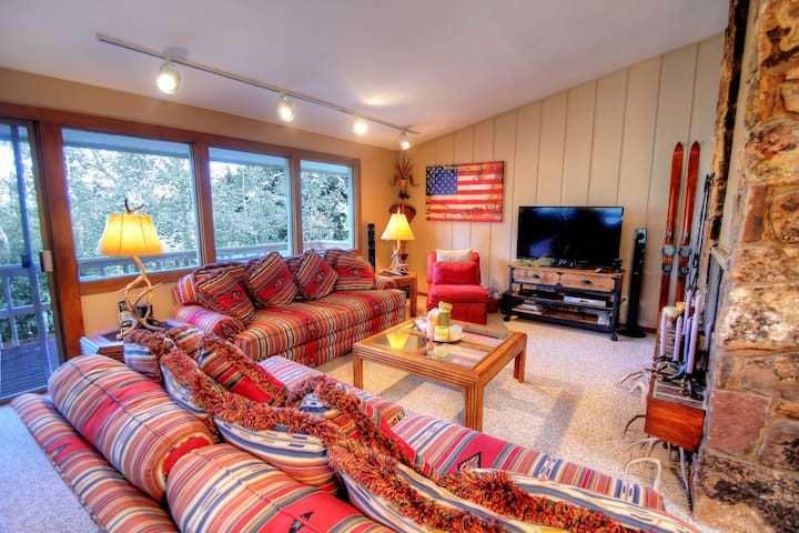 Beautiful Private Home on Snowmass Ski Area w/Private Outdoor and Free Wifi and Hot Tub Enclave