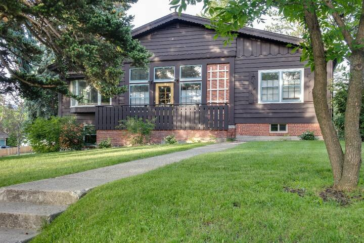 Bozeman Spruce House - Large Home in Bozeman's Historic District