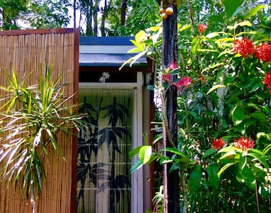 *Rainforest Beach Retreat* - Machans Beach - Bungalow