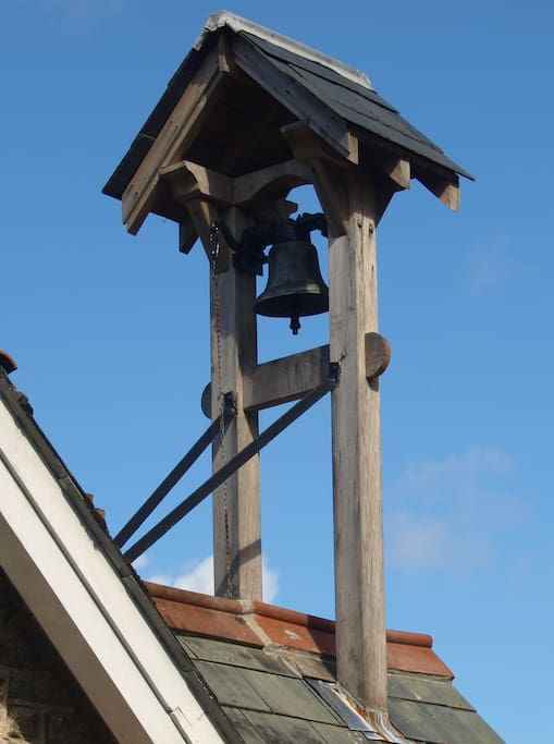 The bell tower - yes it works!