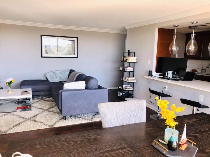 Alexandria room with amazing views near airport