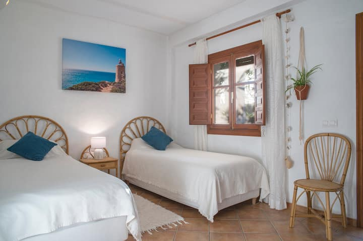 Doppelzimmer mit Gartenblick @ Finca la PalmeraB&B